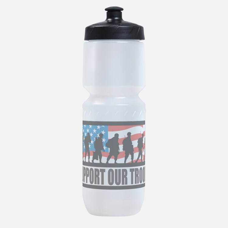 Support our troops - Infantry Sports Bottle