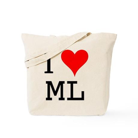 I Love ML Tote Bag