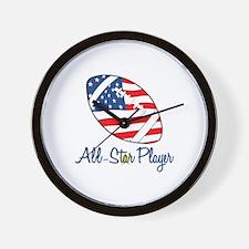 All-Star Player Wall Clock