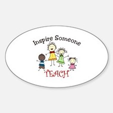 Inspire Someone TEACH Decal