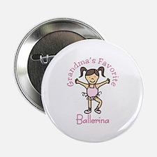 "Grandmas Favorite Ballerina 2.25"" Button"