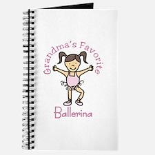 Grandmas Favorite Ballerina Journal