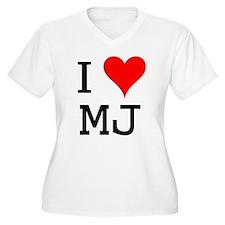 I Love MJ T-Shirt
