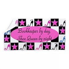 Bookkeeper Shoes Beach Towel
