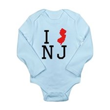 I Heart New Jersey Body Suit