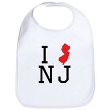 I Heart New Jersey Bib