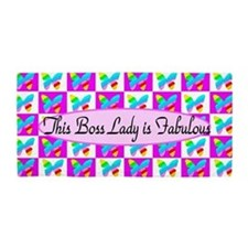 Sweet Boss Lady Beach Towel