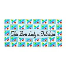 Pretty Boss Lady Beach Towel