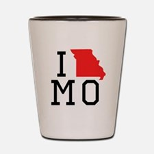 I Heart Missouri Shot Glass