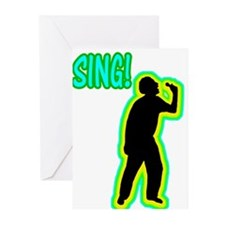 Silhouettes Sing! Greeting Cards (Pk of 10)