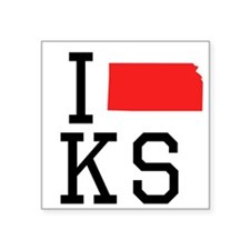I Heart Kansas Sticker