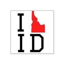 I Heart Idaho Sticker