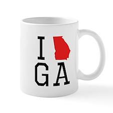 I Heart Georgia Mugs