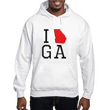I Heart Georgia Hoodie