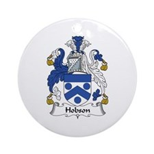 Hobson Ornament (Round)