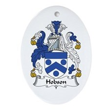 Hobson Oval Ornament