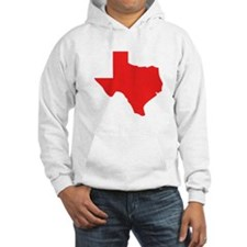 Red Texas Silhouette Hoodie