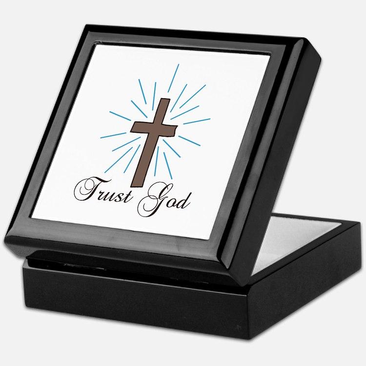 Trust God Keepsake Box