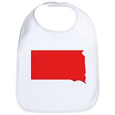 Red South Dakota Silhouette Bib