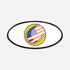 US Flag Tennis Ball Patches