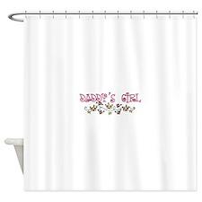 DADDYS GIRL Shower Curtain