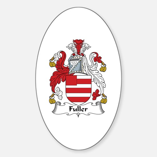 Fuller Oval Decal