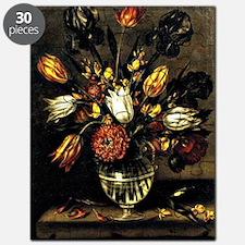 Antonio Ponce - Vase of Flowers Puzzle