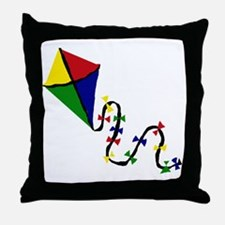 Kite Art Throw Pillow