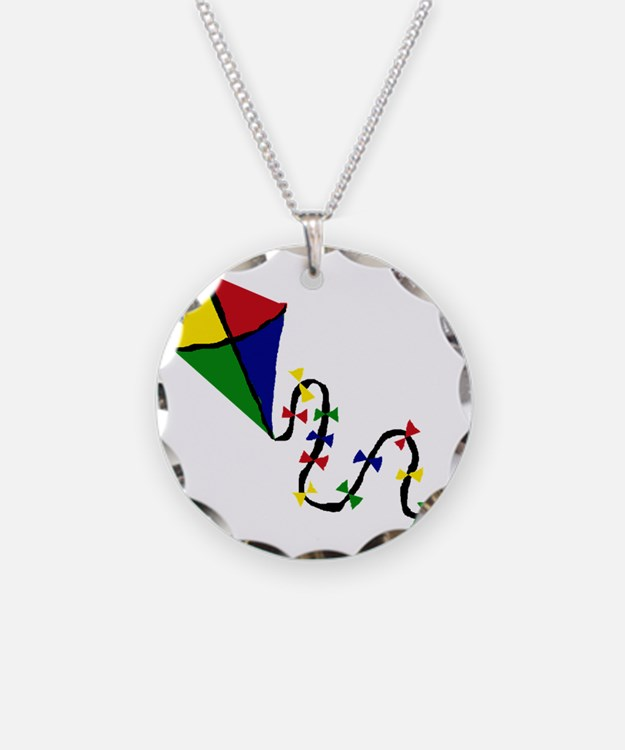 Kite Art Necklace
