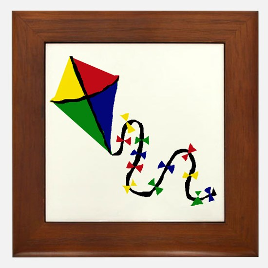 Kite Art Framed Tile