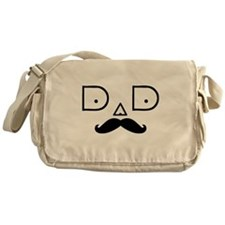 DAD-MUSTACHE-3 Messenger Bag