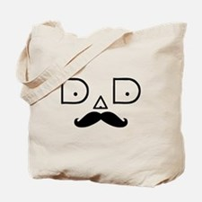 Dad-Mustache-3 Tote Bag