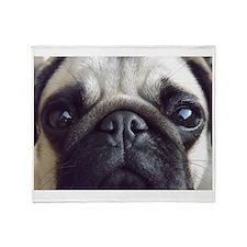 Bella pug Throw Blanket