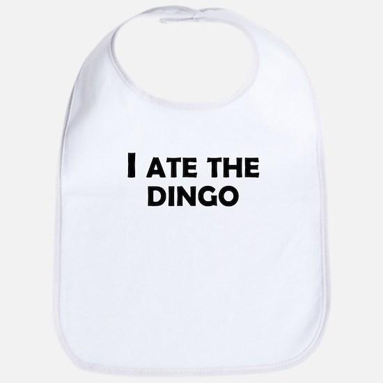 I Ate The Dingo Bib
