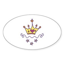 Queen Crown Decal