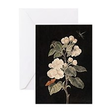 Apple Flowers painting Greeting Card