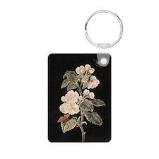 Apple Flowers painting Keychains