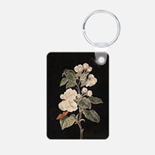 Apple Flowers painting Keychains
