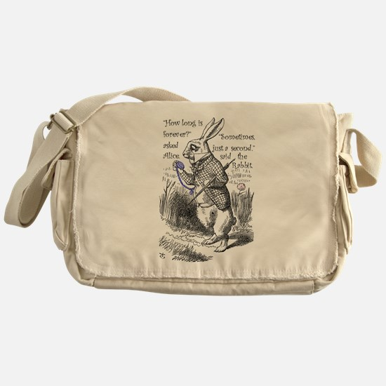 How long is forever Messenger Bag