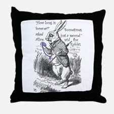 How long is forever Throw Pillow