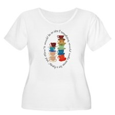 Its a Mad, Mad, Mad world, Alice Plus Size T-Shirt