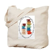 Its a Mad, Mad, Mad world, Alice Tote Bag