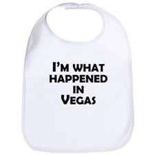 Im What Happened In Vegas Bib