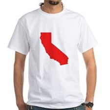 Red California Silhouette T-Shirt