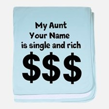 My Aunt (Your Name) Is Single And Rich baby blanke