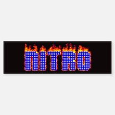 Nitro Bumper Bumper Bumper Sticker