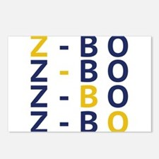 ZBO Postcards (Package of 8)