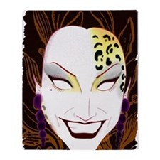 Panther Bianca Del Rio Throw Blanket
