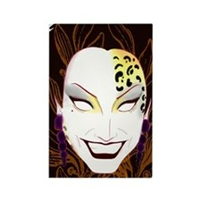 Panther Bianca Del Rio Rectangle Magnet
