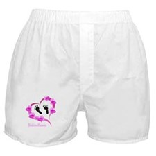 Heart Baby prints Floral Boxer Shorts